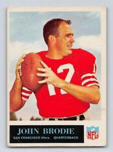 f6dd45eace4 1965 JOHN BRODIE - Philadelphia Football Card -   8 - SAN FRANCISCO ...
