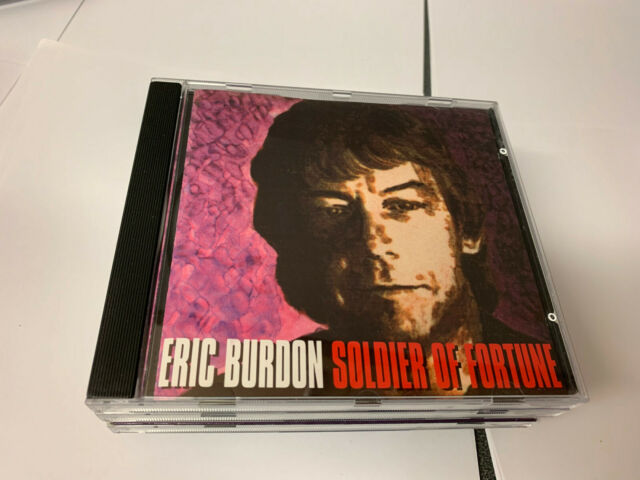 """CD """" ERIC BURDON - SOLDIER OF FORTUNE """" 12 SONGS (HEART ATTACK) NR MINT"""