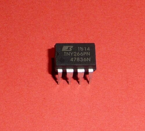 1 2 4 Stück TNY 266 P N offline Switcher DIL DIP 7 für Reparatur etc.