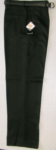 NEXT Chino Style Black School Trousers with Adjustable waist NWT