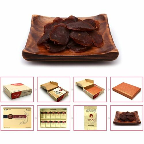 //300g 200gx15pieces Deokwon Honeyed Korean Red Ginseng Slices 200g 20gx10pieces