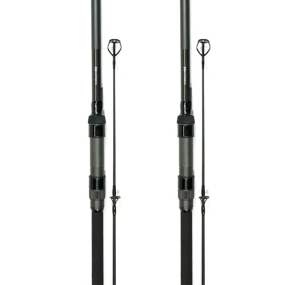 2 X Sonik Dominator X 10ft 3lb Carp Fishing Rod
