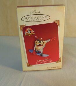 Hallmark Keepsake 2005 Looney Tunes Make Way Taz ...