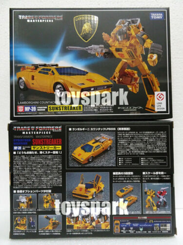 TAKARA TOMY Transformers Masterpiece MP-39 SUNSTREAKER G1 action figure