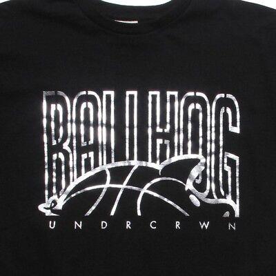 Undrcrwn Ball Hog Logo Men's Black T Shirt 09028blk Clothing, Shoes & Accessories