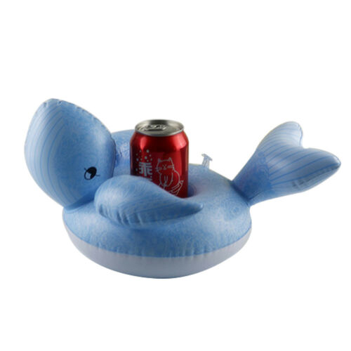 Getränkehalter Flaschenhalter Aufblasbar Badespielzeug Pool Trinkhalter Wal