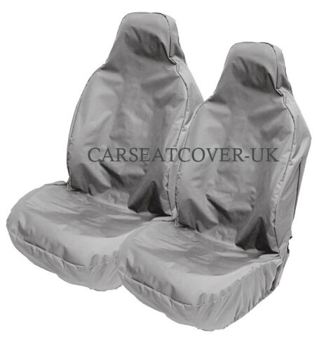 Heavy Duty Black Waterproof Car Seat Covers 2014- VW Scirocco 2 x Fronts