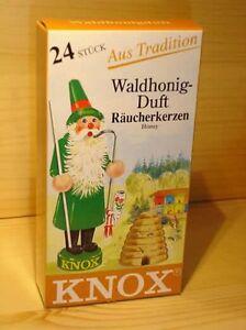 Knox Räucherkerzen Räucherkegel  Waldhonig  24St./P. ,113160