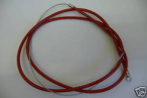 BMX BIKE//CYCLE BRAKE CABLE REAR RED NEW!