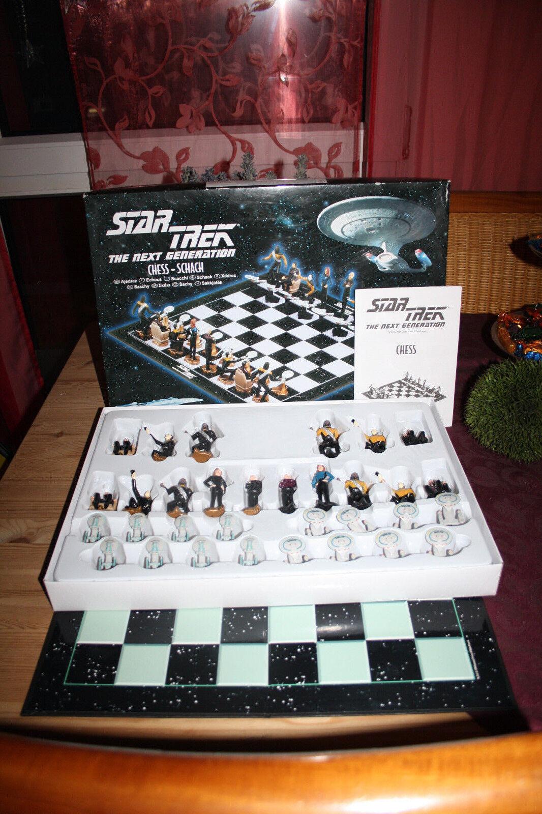Star Treck The Next Generation Schach Spiel Neu