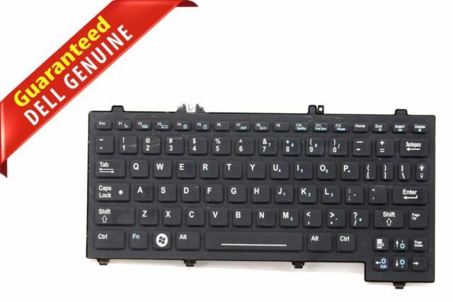 Genuine Dell Latitude XT XT2 XFR Black US English Laptop Keyboard F436F REFUR