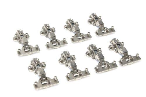 18 Pièces Hettich CHARNIERE Topfband Kröpfung 9,5 mm avec plaque de montage