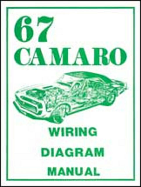 chevy camaro wiring diagram 1967 camaro wiring diagram manual for sale online ebay 2010 chevy camaro wiring diagram 1967 camaro wiring diagram manual for