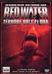 Red-Water-Terrore-sott-039-acqua-2003-DVD-IMPORT-RENT-NUOVO-Sigillato