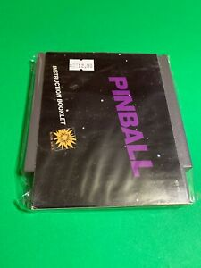 ORIGINAL-Working-NINTENDO-NES-Game-BLACK-BOX-CLASSIC-Pinball-MANUAL