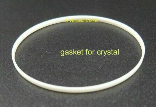 7S26-0020 SKX007 Set of 3 Gaskets Crystal Caseback Bezel