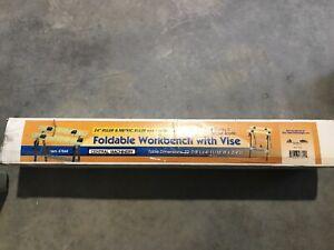Folding Portable Work Bench Table Tool Garage Repair ...
