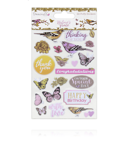 NATURE-039-S-GRACE-Puffy-Stickers-Dovecraft-22-Pcs