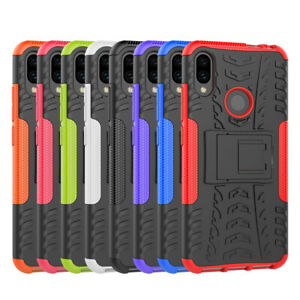 Pour-Xiaomi-Redmi-Note-7-Robuste-Armure-Hybride-Bequille-Etui-Protection-Housse