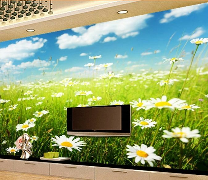 3D Spring Flower grass 0161 Wall Paper Wall Print Decal Wall Deco AJ WALLPAPER