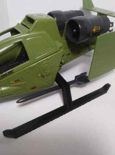 "1984 Gi Joe Sky Hawk /""Basic Custom/"" Printed Replacement Landing Skids"