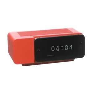 NEW Areaware Alarm Dock for Apple iPhone 3G 3GS 4 4s & iPod RED Jonas Damon