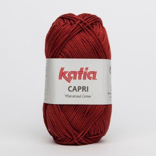 - 50 g // ca 125 m Wolle CAPRI von Katia TEJA 82096