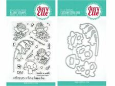 """Avery Elle /""""HANG IN THERE/"""" Clear Stamp and Elle-ments Die Bundle"""