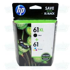 Black or Tri-Color HP 61XL High-Yield Single Ink Cartridge in Retail Box !!!