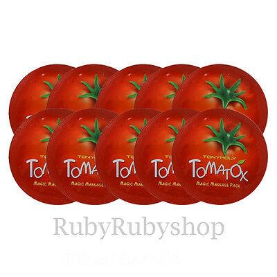 [TONYMOLY] Tomatox Magic Massage Pack samples 10PCS  [RUBYRUBYSTORE]