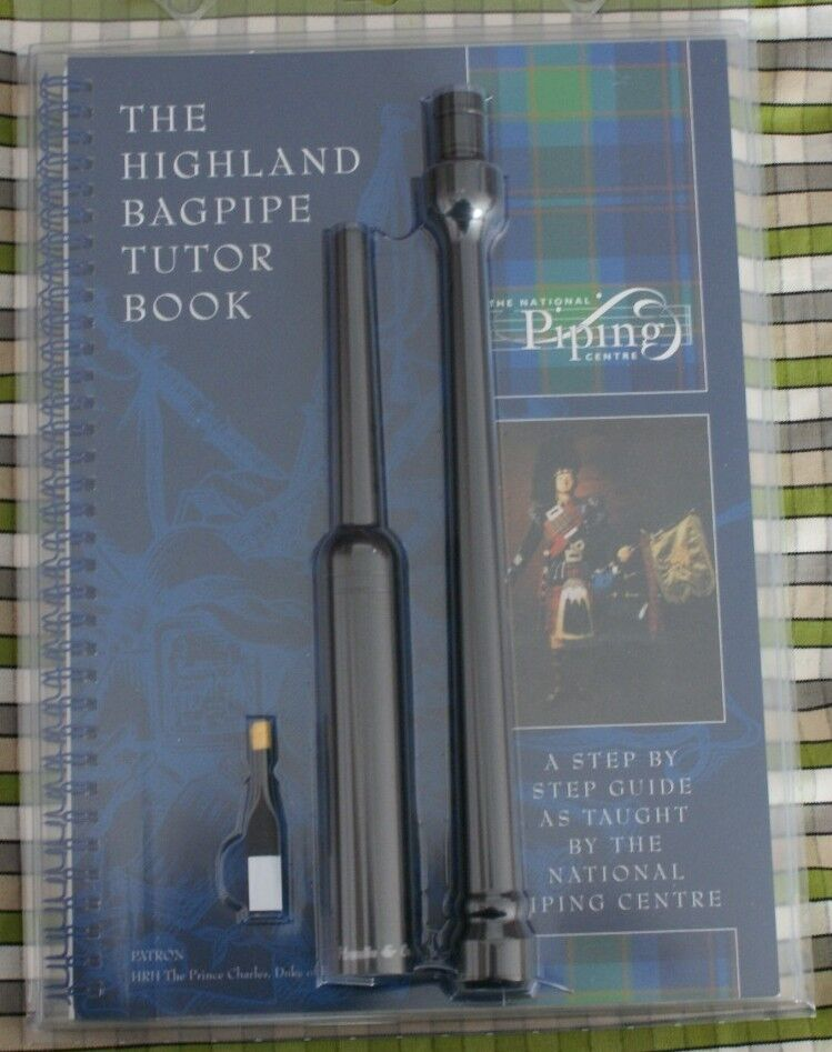 Starter book National Piping Centre learn highland bagpipe practice chanter reed