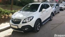 To Fit 2013+ Vauxhall Opel Mokka Aluminium Side Steps Running Boards Style B