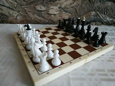 no board King = 8cm Vintage Soviet Chess Set Vintage wooden chess pieces from the 80/'s made in USSR no box