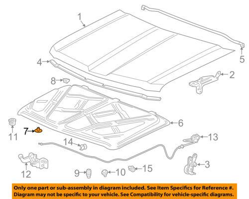 GM OEM Hood-Insulator Retainer 11571159