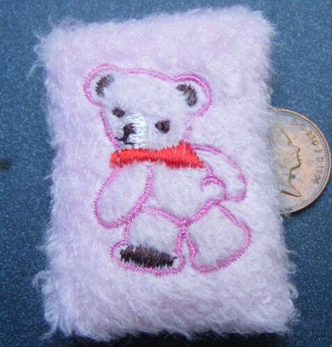 1:12 scale Single Rose Coussin avec un cousue main Animal tumdee maison de poupées