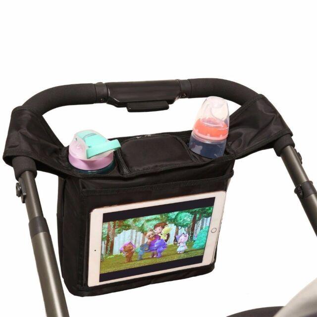 b2ddecf625 BEST STROLLER ORGANIZER for Smart Moms, Fits All Strollers, Premium 2 Deep  Cup