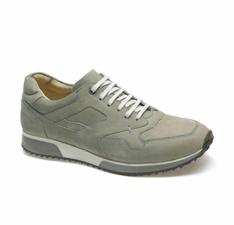 Anatomic Vai Nubuck Silver Lace Up Shoes