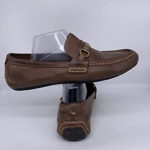 Cole Haan Somerset Link Bit Driving Loafer Tan Brown Leather C11836 Men Size 11M