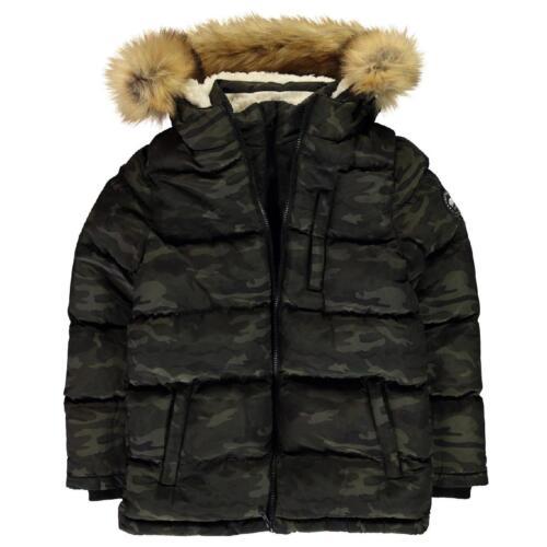 SOULCAL Inverno Giacca Giacca per Bambini Inverno Cappotto giovani JACKET BUBBLE 7011