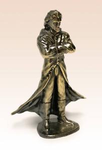 Miniatur-Bronze-Figur-Dracula-Vampirskulptur-Kunsthandwerk-selten