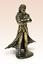 Miniatur-Bronze-Figur-Dracula-Vampirskulptur-Kunsthandwerk-selten Indexbild 1