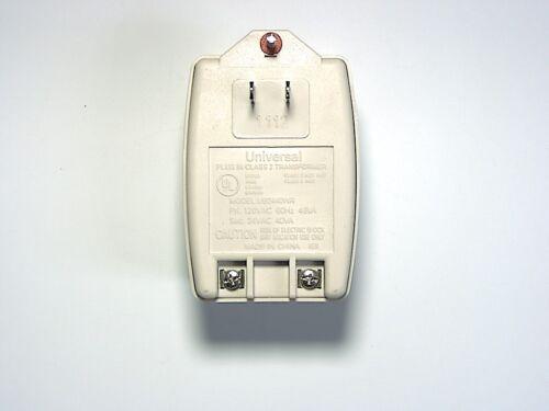 Universal Transformer 24.0-40VA Green LED & Resettable