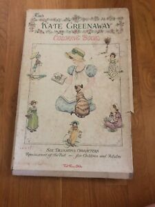 Details about Vintage Kim's Kate Greenaway Coloring Book By Red Farm Studio