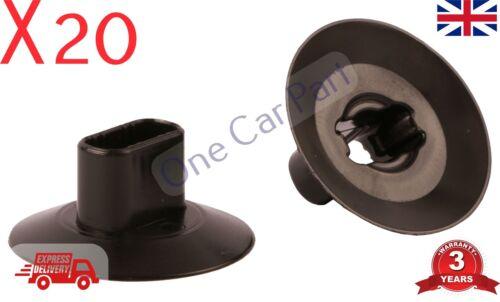 20x Wheel Arch Lining /& Splashguard Clips for Renault Dacia 7703081056