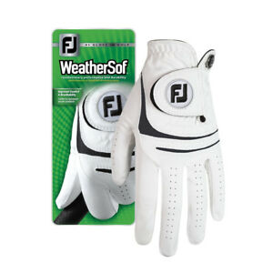 FJ-FootJoy-WeatherSof-Mens-Golf-Glove-Regular-Cadet-Worn-on-Left-Hand-All-Sizes