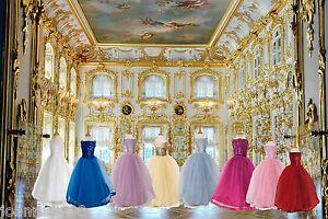 Kids Girls Sequin Ballgown Ballroom Flower Girl Bridesmaid Party Ball Gown Dress