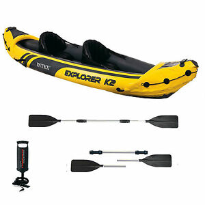 intex explorer k2 kayak instructions