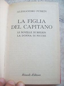 1950-ALESSANDRO-PUSKIN-034-LA-FIGLIA-DEL-CAPITANO-034-EDIZIONE-RIZZOLI-B-U-R