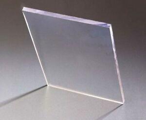 "1//2/"" x 24/"" x 47-1//2/"" Clear Polycarbonate /""Lexan/"""