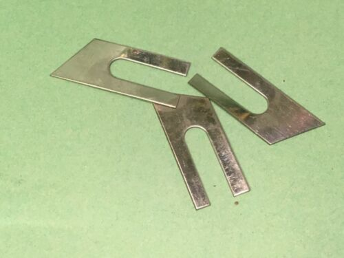 Bisagra de Puerta de Coche Reliant Robin para Cuerpo Ajustador cuñas 3 Viejo Stock de tienda 1 orificios de 21373